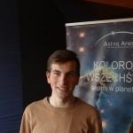 Animator Daniel inspiruje astronomią