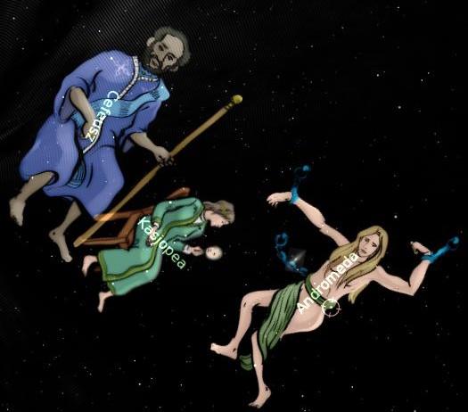 Mitologia grecka na niebie