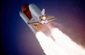 Atlantis - start wahadłowca (fot. NASA)