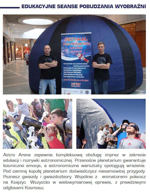 Edukacja astronomiczna na eventach i imprezach plenerowych