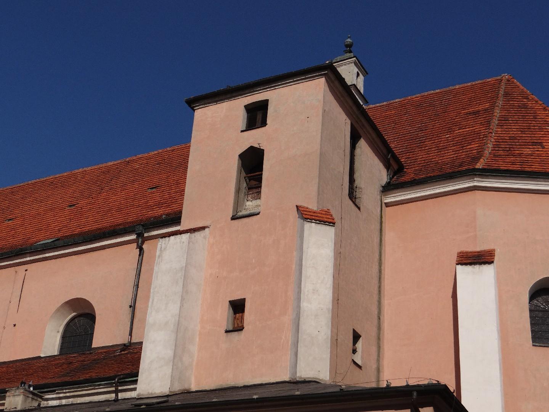 Wieża kościoła garnizonowego w Kaliszu