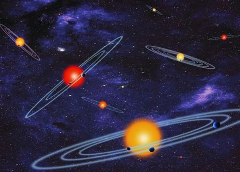 Planety pozasłoneczne. Wizja artystyczna