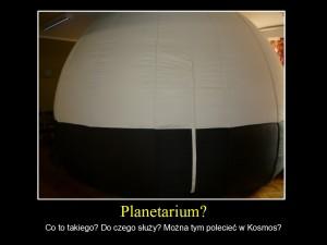 przenośne planetarium (mobilne)