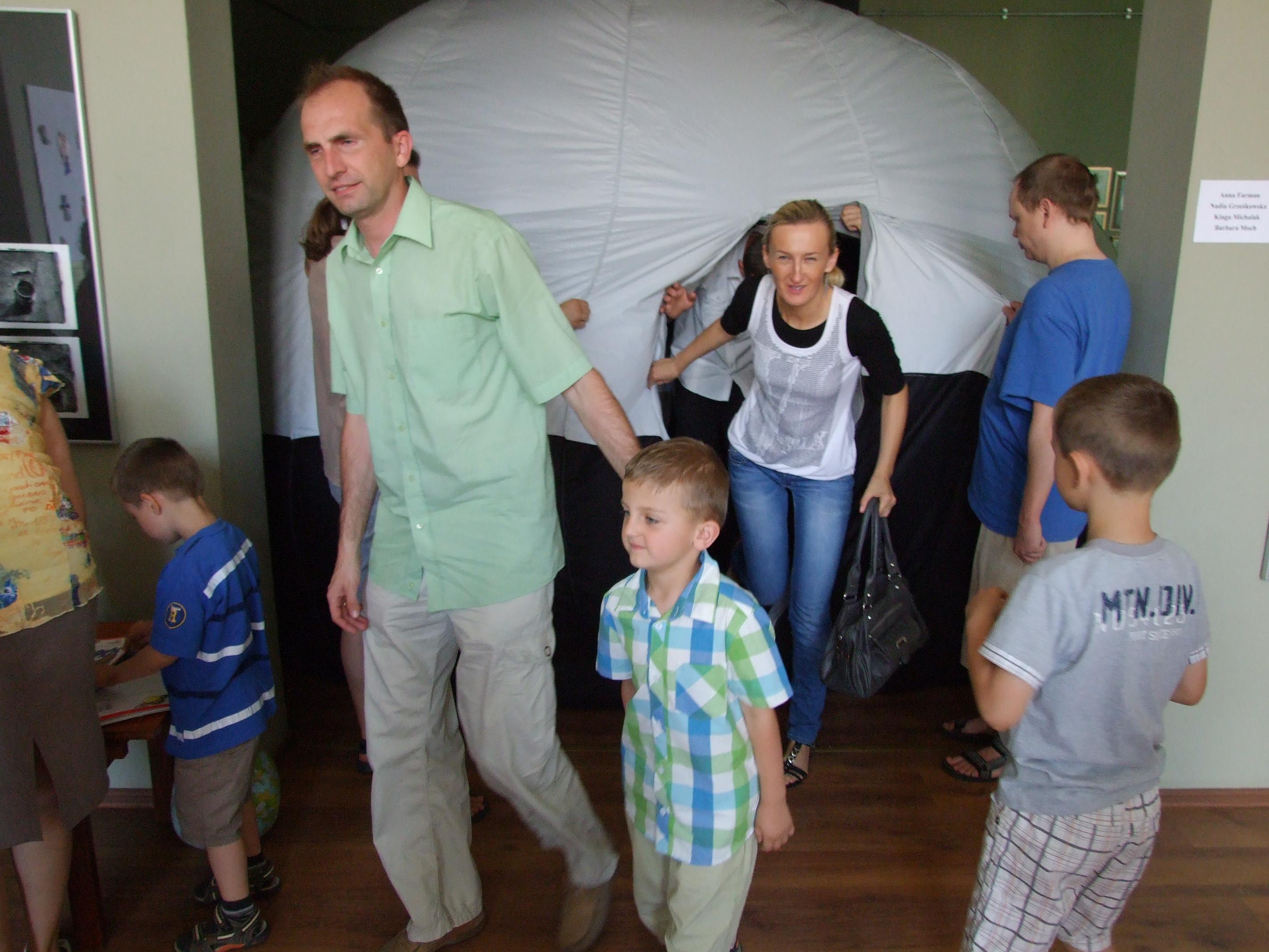 planetarium mobilne kalisz