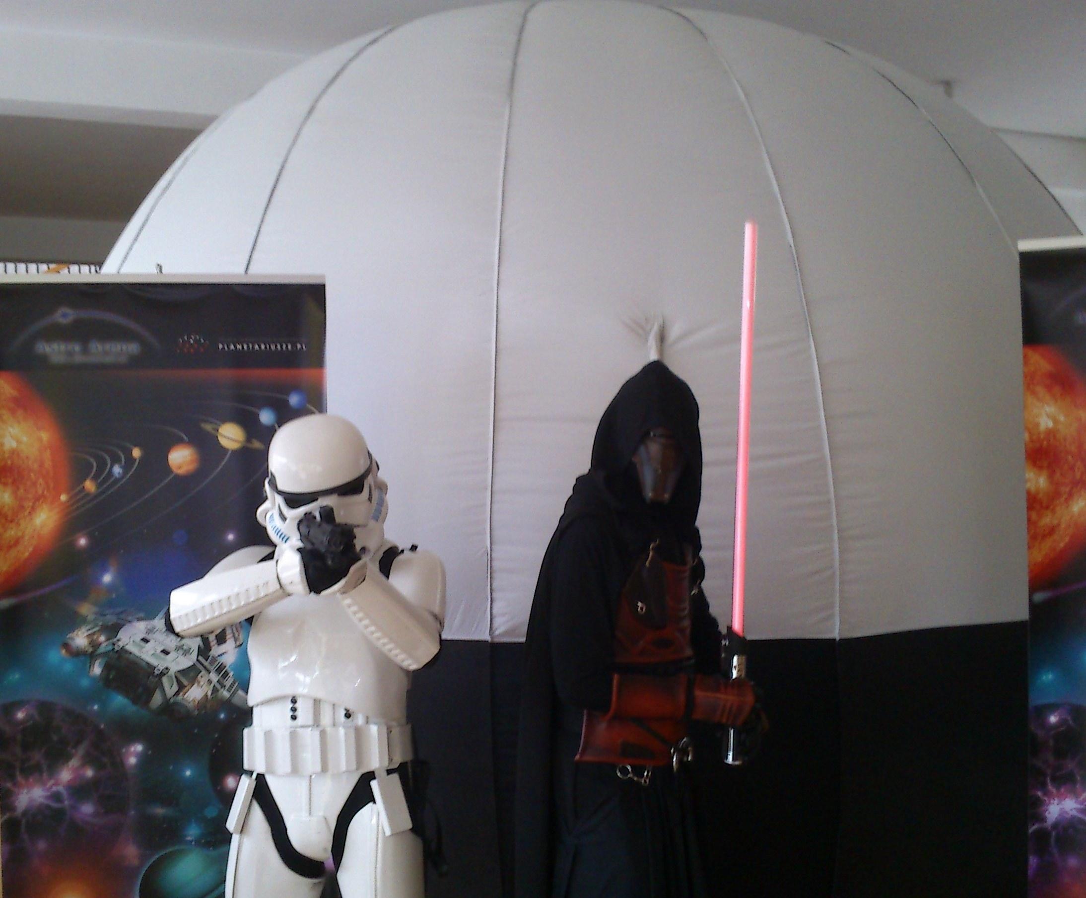 star wars planetarium mobilne