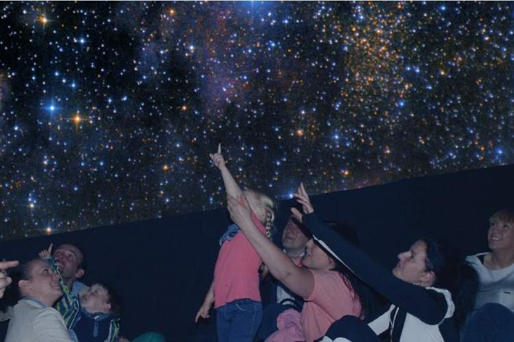 mobilne planetarium